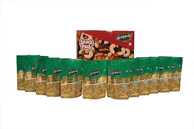 Happilo�Premium Seedless Raisins, 40g (Pack of 12)