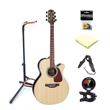 TAKAMINE gn93ce-nat 6 cuerdas de acero guitarra acústica con cutaway guitarra eléctrica withj Clip