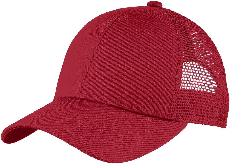 Port Authority Mens Adjustable Mesh Back Cap