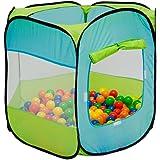 Tenda gioco per bambini ELLIOT | faciele da montare | leggera da trasportare | Ideale per dentro e fuori casa | Con pratica custodia per riporla e/o trasportarla