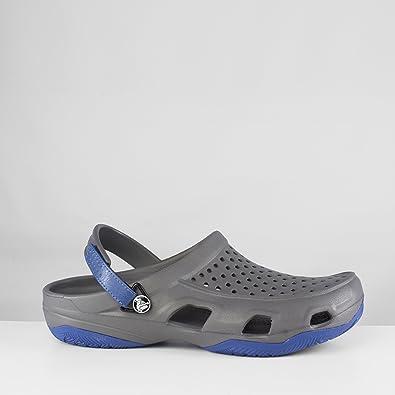 660c8deb5 Crocs Men Swiftwater Deck Clogs  Amazon.co.uk  Shoes   Bags