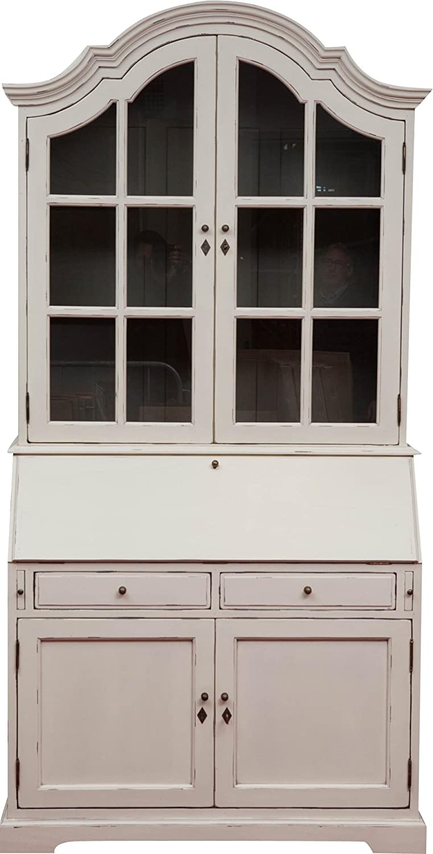 Feste Eiche Vitrinenschrank, weiße, zentrale Schaufenster, zwei Sportarten...