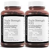 PQQ Triple Potencia (Pirroloquinolina Quinona) - Increíbles 30mg x 120 cápsulas vegetales - 300% más potente que la mayoría de la competencia.
