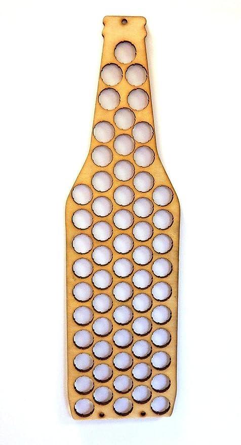 ottima qualità anteprima di stili diversi Decorazione a forma di bottiglia di birra, raccoglitore per ...
