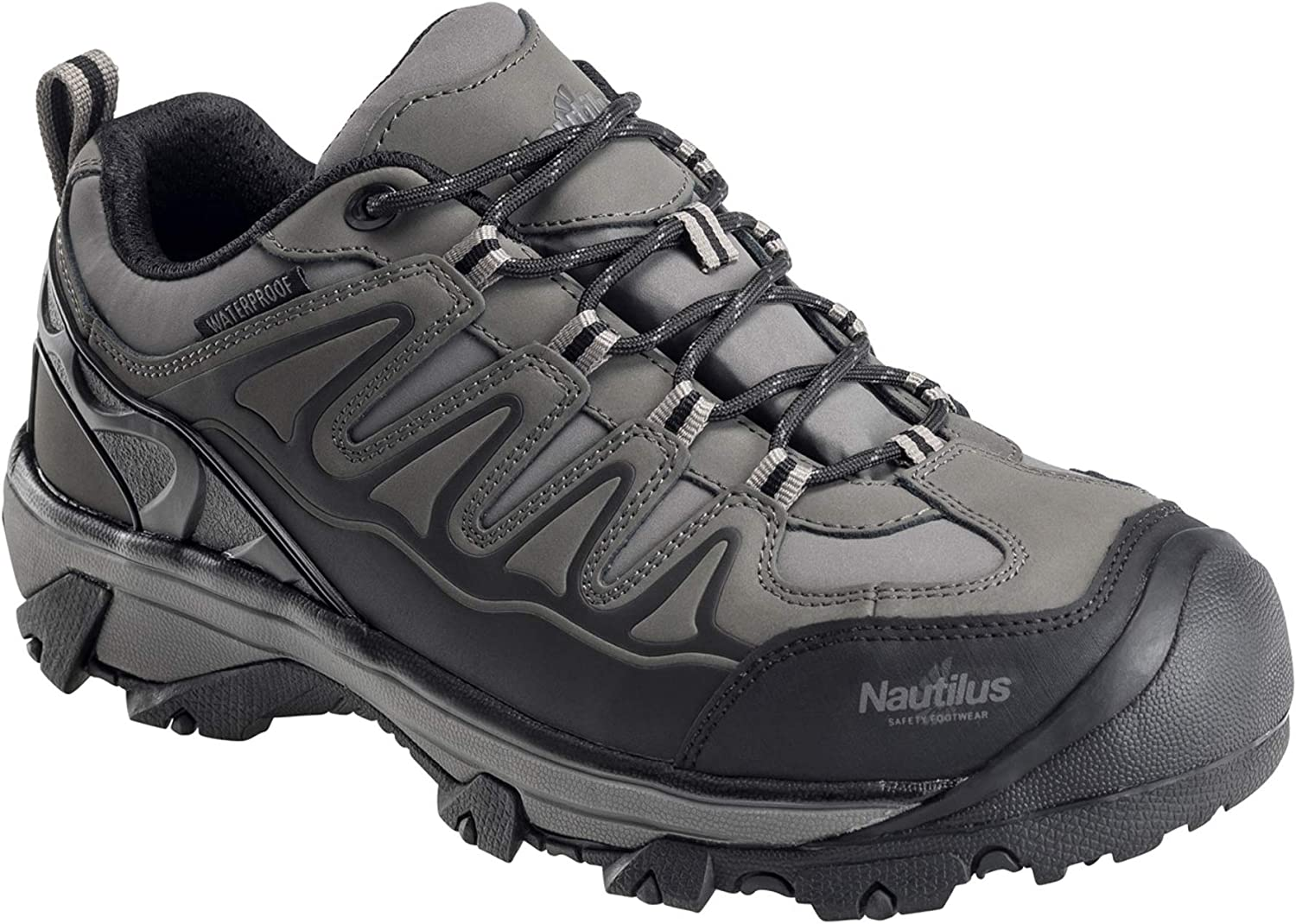 Nautilus Men's Waterproof Athletic Hiker Shoes Steel Toe