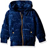 Limited Too Girls' Toddler Quilted Velvet Bomber