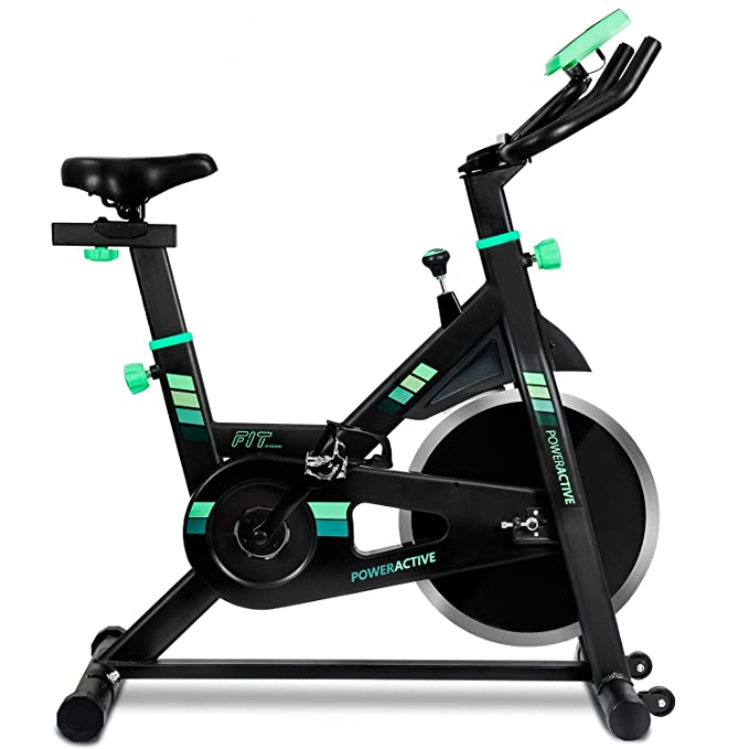 Cecotec Bicicleta Estatica Power Active 7018. V1700392, Adultos ...