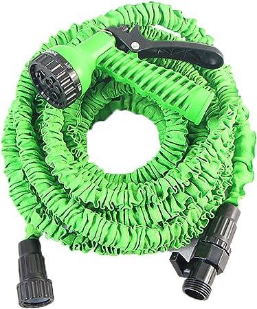 50-150FT Magic Water Tube Household Telescopic Hose Car Wash Gun Watering Garden