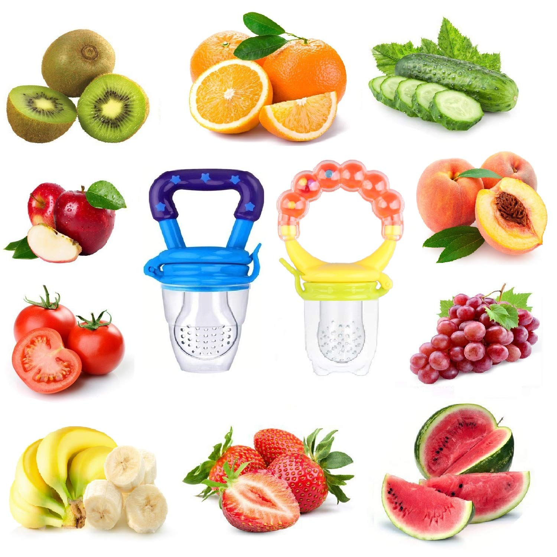 Amazon.com: Bebé alimentador de alimentos fruta fresca ...