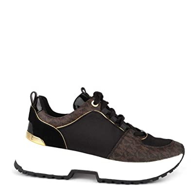 955a7aed052 Michael Kors Cosmo Trainers Brown 7 UK: Amazon.co.uk: Shoes & Bags