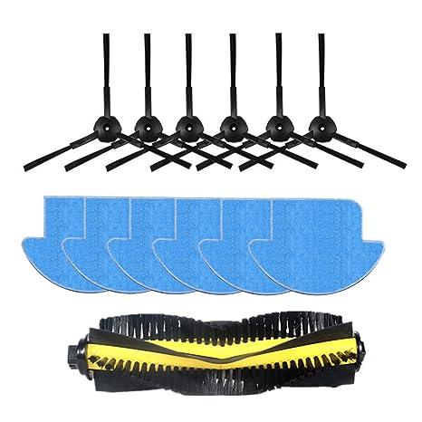 reyee 13 unidades iLife V7S iLife V7S Pro Robot aspiradora partes kit (principal cepillo *