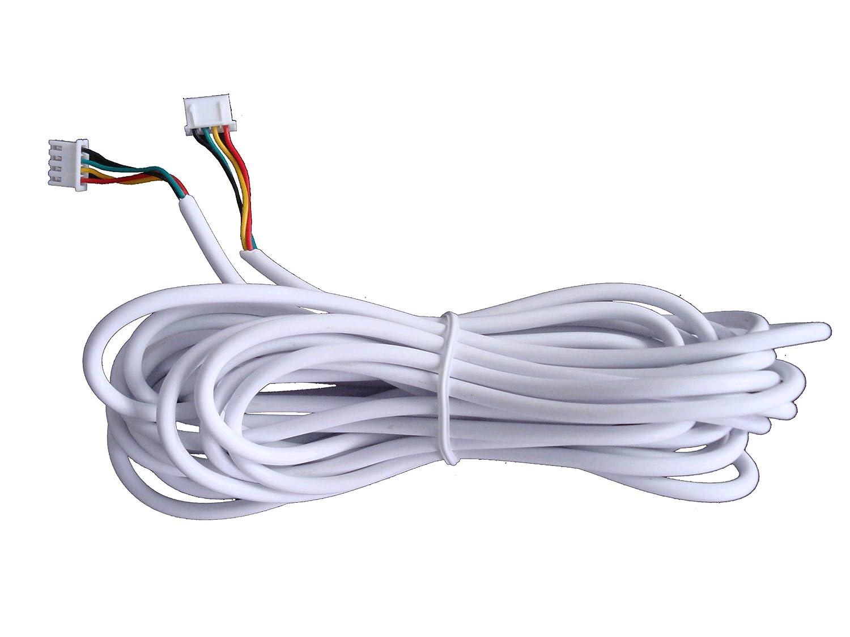 15M 4 Draht Kabel für video Türsprechanlage: Amazon.de: Baumarkt