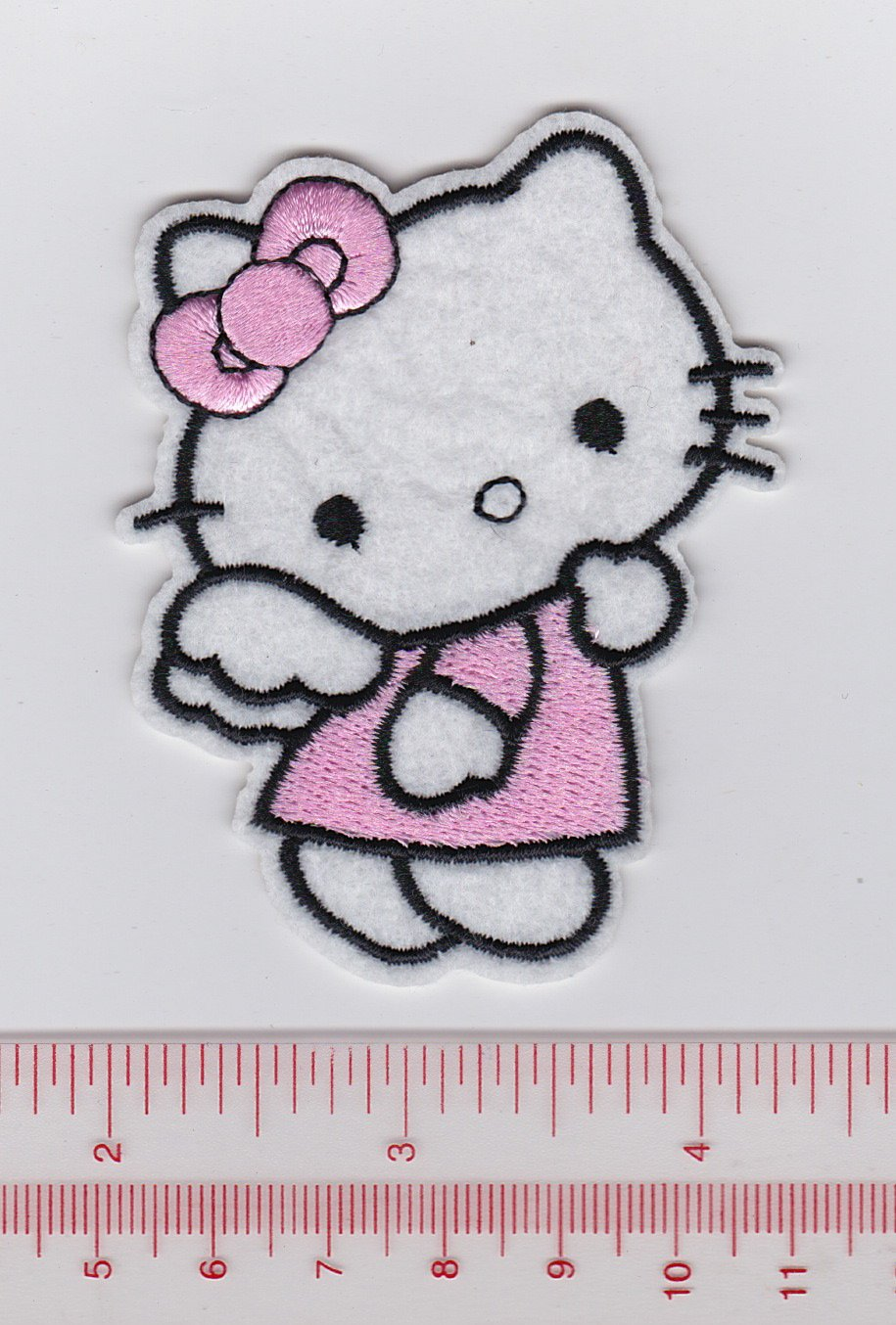 Hello Kitty Christmas Fabric Iron Ons Appliques style#2