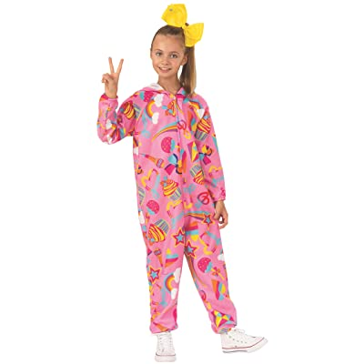 Rubie's Pretty JoJo Siwa Onesie Pink Costume: Toys & Games