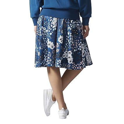e0861628b635cb adidas Original Fleur Jupe Merveilleux Jupe à Fleurs Motif Bleu ...