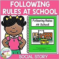 Following Rules at School Social Storybook