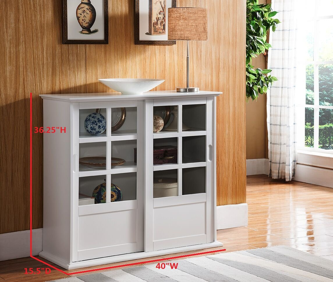 Amazon Kings Brand Furniture Wood Curio Cabinet With Glass