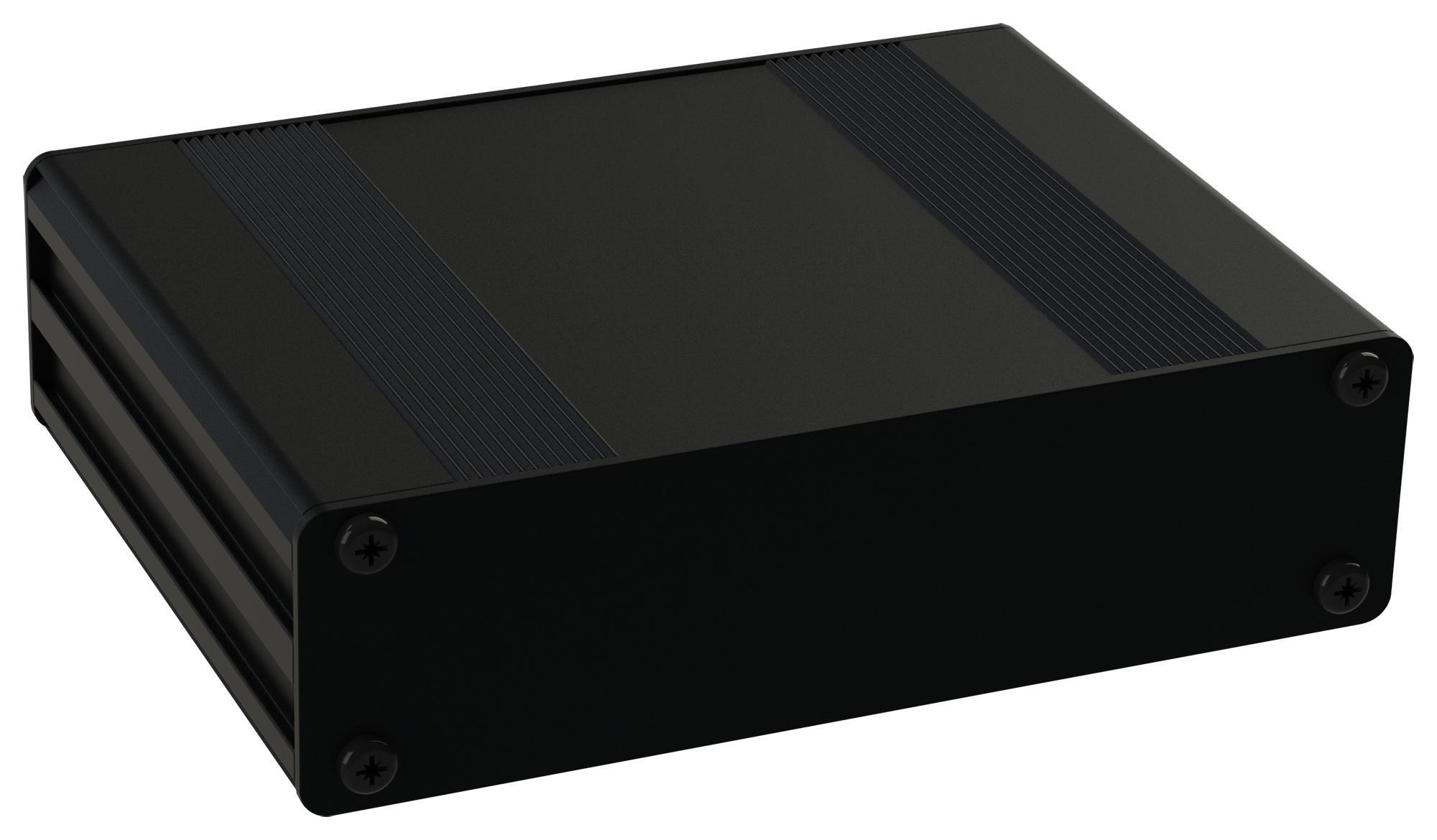 MULTICOMP MC002219 ENCLOSURE, HEAT SINK, ALUM, BLACK by Multicomp