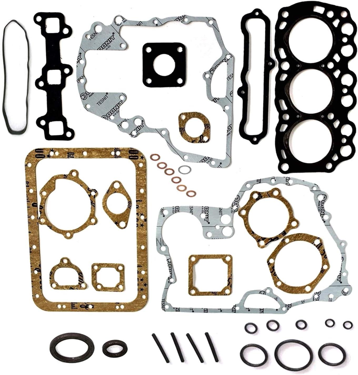 Nuovo Kit Guarnizioni Testa Revisione Completa Mm433975 30L94-15010 Md016-317 Md115472 Adatto per Motore Mitsubish i Mx15 L3e Peljob Eb12.4 Eb14 Cat 301.6C Mini Escavatore
