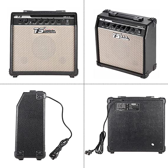 ammoon®GM-215 Guitarra Eléctrica Amplificador Overdrive Amp Profesional 5