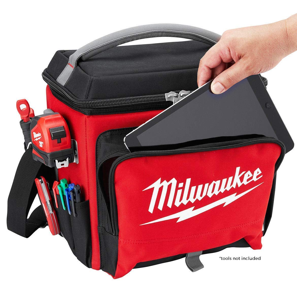 color rojo Enfriador de trabajo Milwaukee 932464835
