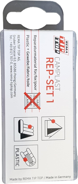 tip top 40645//552400 Camplast Mini Set de reparacin pequeo
