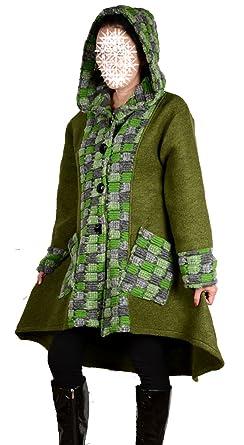 629ce26a4 Italy Donna - Chaqueta - trenca - para mujer: Amazon.es: Ropa y accesorios