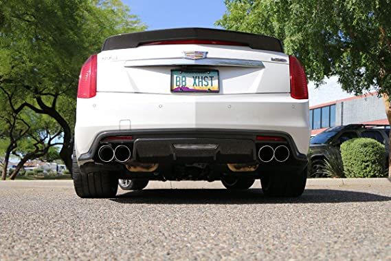 Amazon.com: BILLY BOAT FDOM-0330 FUSION EXHAUST fits 2016-2018 CADILLAC CTS- V (ROUND TIPS): Automotive