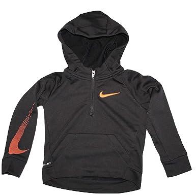 342f5a47fe34 Amazon.com  Nike Toddler Boys 1 4 Zip Therma Hoodie Sweatshirt (Size ...