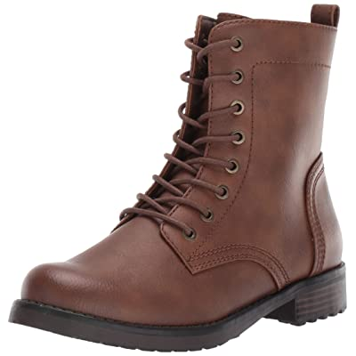 Amazon Essentials Women's Lace Up Combat Boot: Clothing