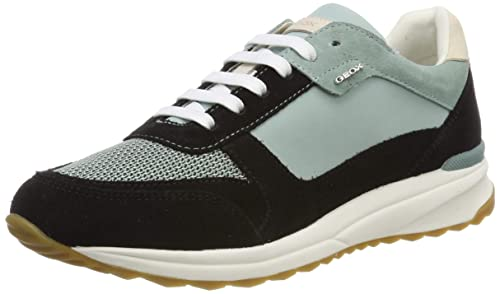 Geox D Airell C, Sneakers Basses Femme:
