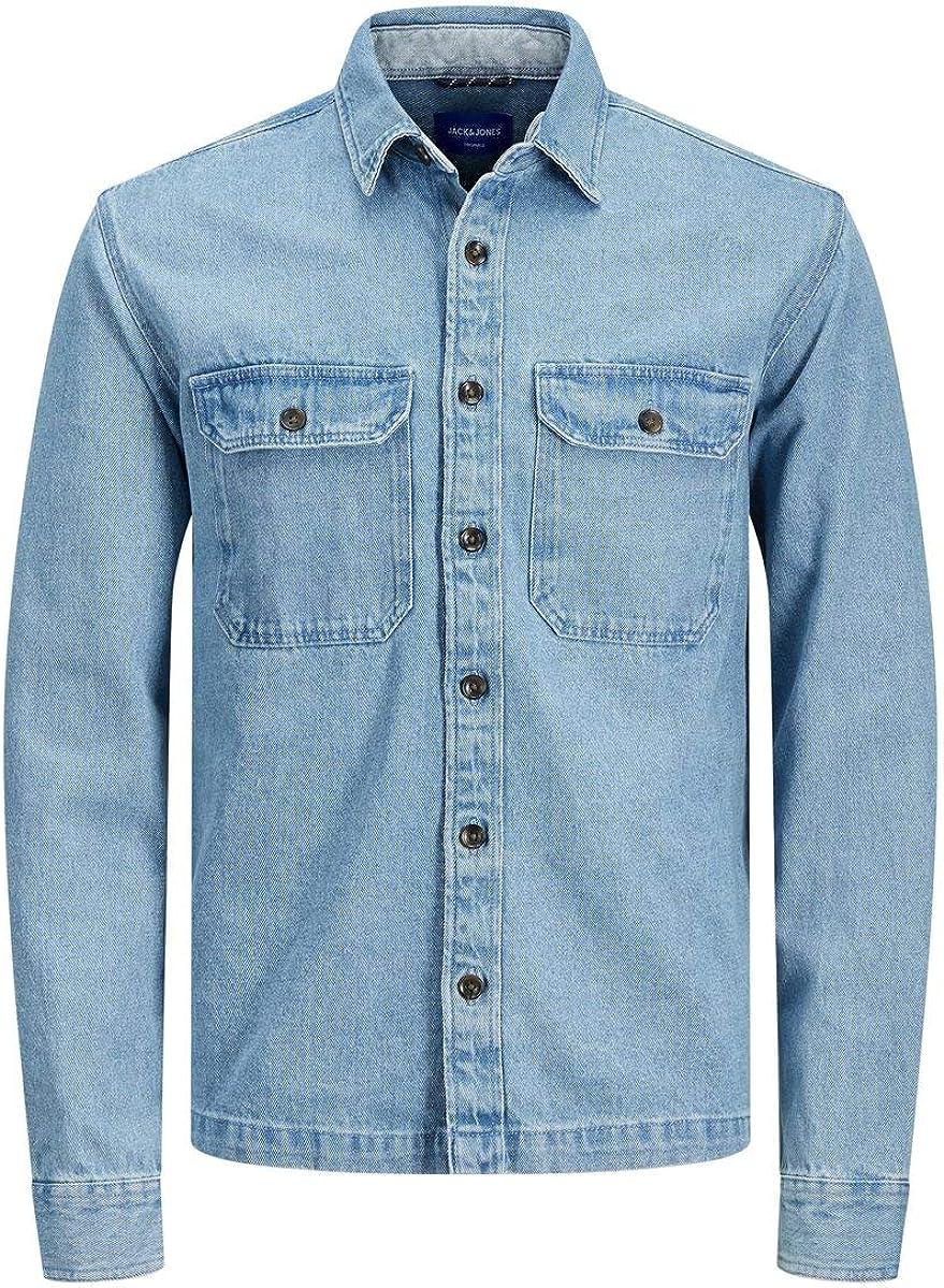 Jack & Jones Jjipete Shirt LS Camisa Vaquera para Hombre: Amazon.es: Ropa y accesorios