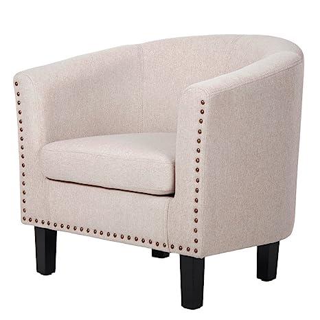 Amazon.com: Harper & brillante elegante tapizado tela ocio ...