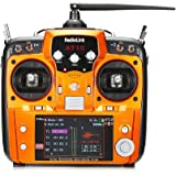 Goolsky RadioLink AT10Ⅱ 2.4GHz 12CH リモコン送信機 & R12DS 12CH 受信機 & PRM-01 電圧 テレメトリ モジュール RCドローン用