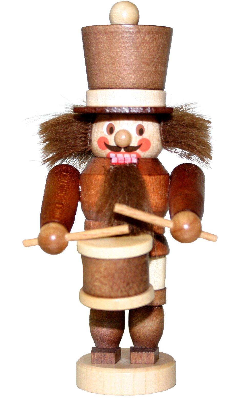 13-0502 - Christian Ulbricht Nutcracker - Drummer - 4.25''''H x 2''''W x 2''''D