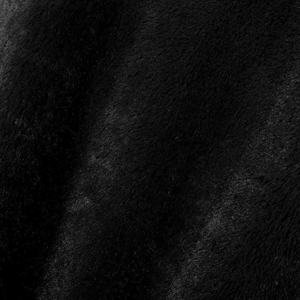 KPILP Frauen Winter Mantel Jacke Casual Teddyfleecejacke Pl/üsch Jacke Faux Pelzmantel Outwear Langen /Ärmel Bequeme Jacke Warme Winterjacke Kurz mit Rei/ßverschluss
