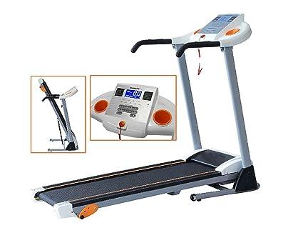 leiser Elektromotor 1-10 km//h MAXOfit Fitness Laufband klappbar MF-17 f/ür Zuhause GEH- und Lauftraining mit 12 Programmen und LCD-Display platzsparend faltbar