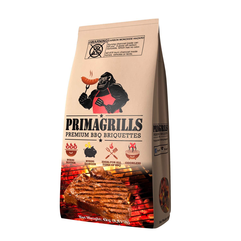 PRIMAGRILLS PREMIUM BBQ BRIQUETTES 8.81lb Bag