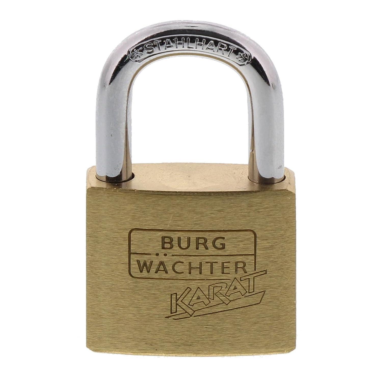BURG WÄ CHTER Vorhangschloss Karat, 40 mm SB, 1 Stü ck,217 40.SB Burg-Wächter KG 105021956