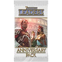 7 Wonders Board Game Leaders Anniversary Pack 15 Card Expansion Sealed New
