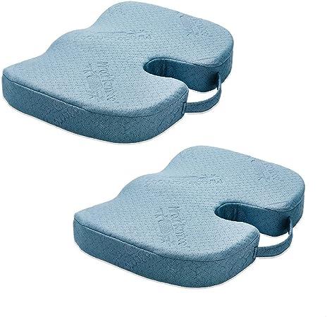 1+1 Miracle Bamboo Cushion das ergonomische Sitzkissen