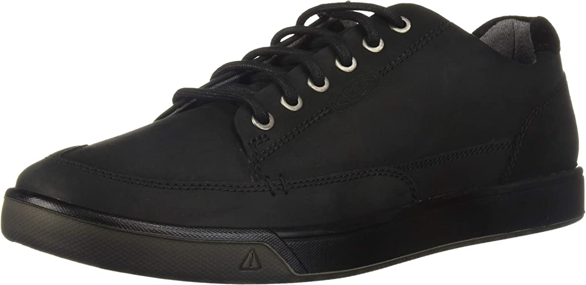 KEEN Men's Glenhaven Sneaker, Black