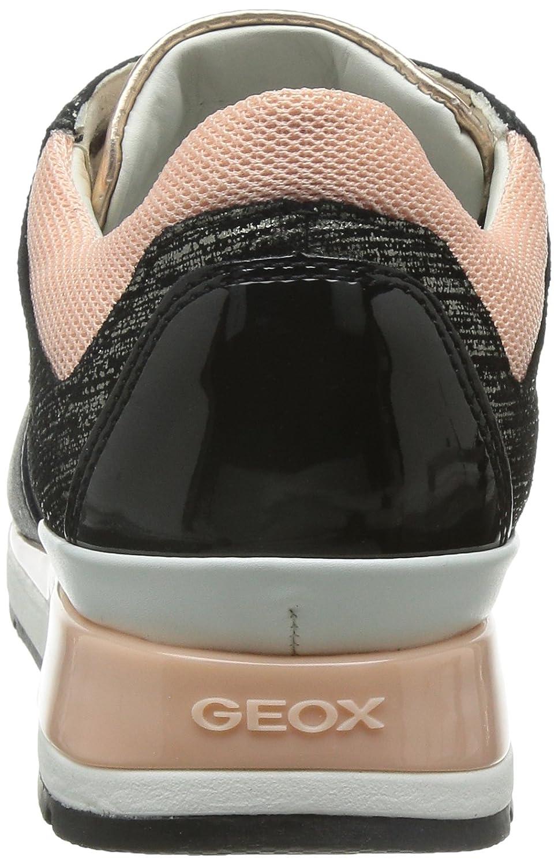 lluvia Susteen Enemistarse  Geox Women's D Shahira 22 Fashion Sneaker, Black, 37 EU/7 M US: Amazon.in:  Shoes & Handbags