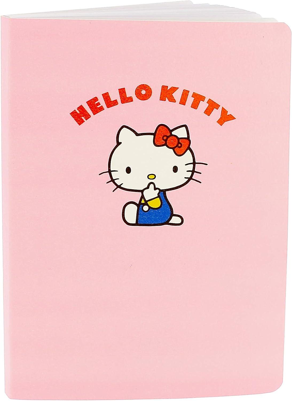 Hello Kitty Essential A5 Luxus Notizbuch Kunstleder 96 Seiten Bürobedarf Schreibwaren