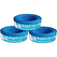 (3) - Angelcare Nappy Bin Refill Pack