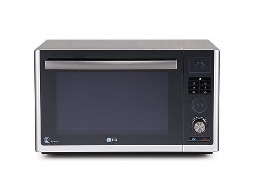 LG - Microondas Mj3281Bp, 32L, Grill Simultaneo, Inox ...