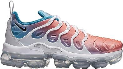 web Silenciosamente Vástago  Amazon.com | Nike Women's Air Vapormax Plus Lava Glow/Blue Fury/White/Black  Synthetic Casual Shoes 7 M US | Road Running