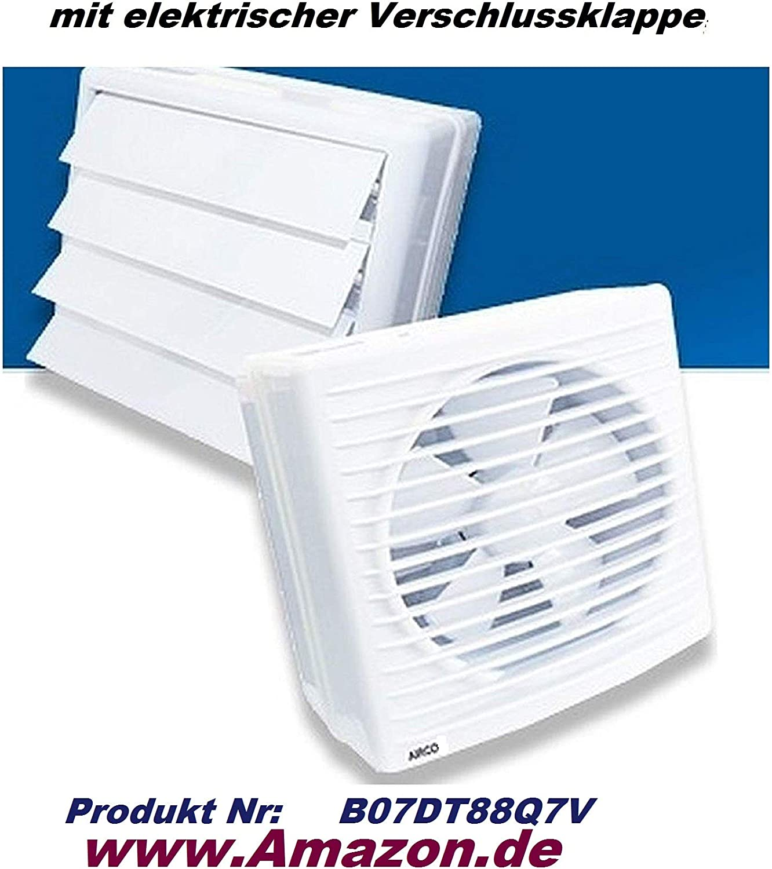 Uzman-Versand 300MM Wandventilator mit 500W Axial Wand Fenster Ventilator Gebl/äse Metall/üfter Einbauventilator Einbaul/üfter Axialventilator Axialgebl/äse DREHZAHLREGLER