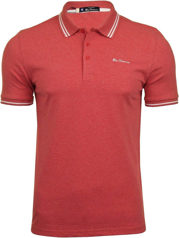 Mens Tipped Pique Polo Shirt by Ben Sherman