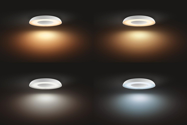Plafoniere Quadrate Philips : Philips lighting plafoniera p hue still lampada da